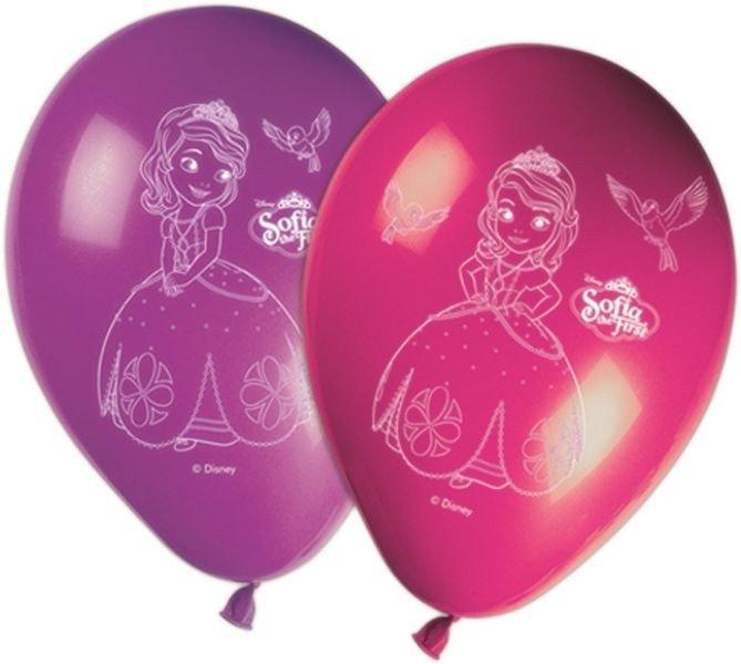 Balony Lateksowe Z Księżniczką Zosią 8sztop 2800 Dekoracje