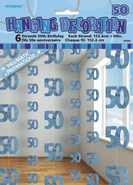 Dekoracja Wisząca 50 Lat 1525 Dekoracje Urodzinowe I Imprezowe